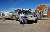 overland north america ron and viv moon crossing arctic circle