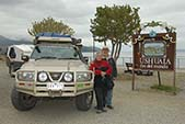 overland south america ron and viv moon end of the world ushuaia