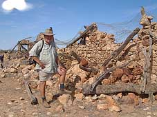 Ron at ruins in south australia