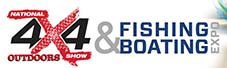 brisbane national 4x4 outdoor show and fishing and boating expo