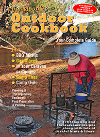 Viv Moon Outdoor Cookbook camp oven cooking