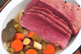 Old Fashioned Corned Beef Recipe