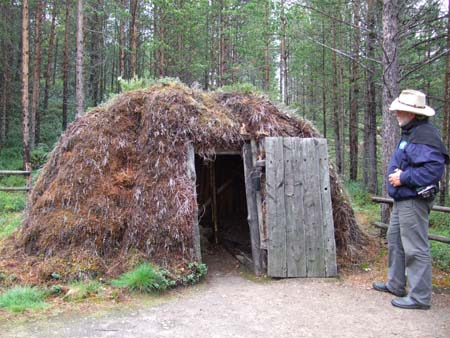 Huts Boothes In National Russian 44