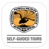 NPWS self guided tours app