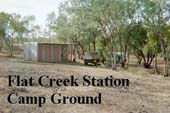 flat creek station camping georgetown bush camp accommodation