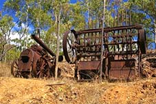 palmer river goldfields mining ruins